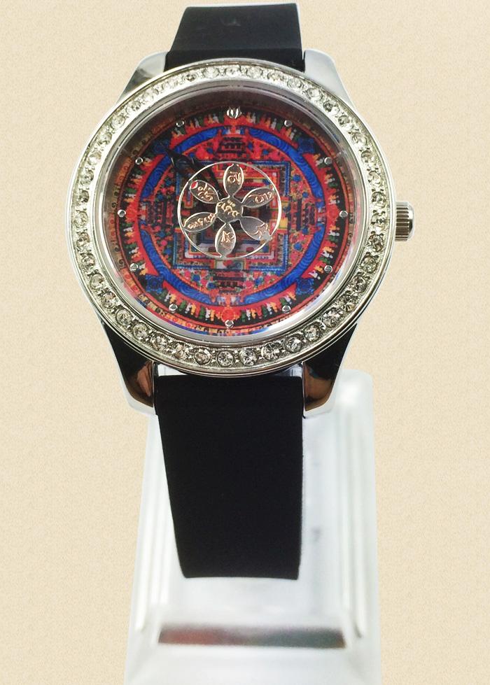 祥时轮文殊智慧手表 皮表带