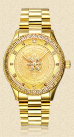 时轮金刚SL-M6912-金色钢带