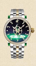 【祈福手表】绿度母佛表新款钢带